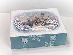 Téli doboz jeges-deres hatásokkal