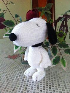 (4) Name: 'Crocheting : Snoopy Amigurumi