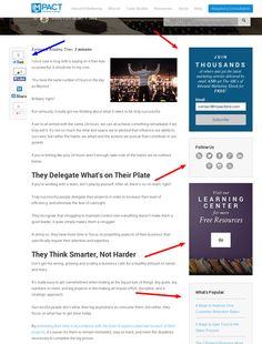 How we removed our blog sidebar and increased conversion rates