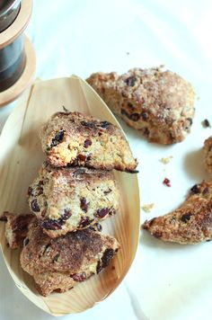 Whole wheat cranberry citrus scones