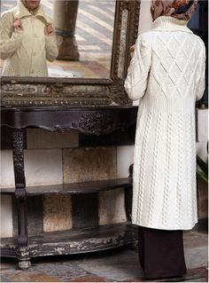 Aran Knitted Cardigan Coat - SHUKR International
