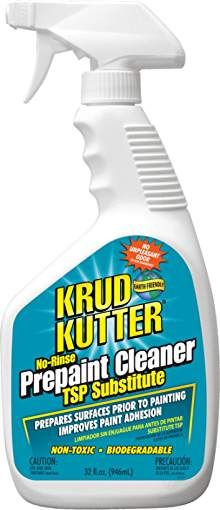 Krud Kutter-Krud Kutter Prepaint Cleaner/TSP Substitute This product cleans and deglosses prior to painting. The Purple Painted Lady loves this product but unlike the brands instructions, WE STRONGLY recommend that after using it however that you fol Diy Kitchen Cabinets, Painting Kitchen Cabinets, Kitchen Redo, Kitchen Ideas, Kitchen Remodel, Bathroom Cabinets, Kitchen Designs, Repainting Cabinets, Kitchen Makeovers
