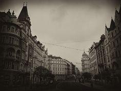 awesome Prague la magnifique sans couleur...