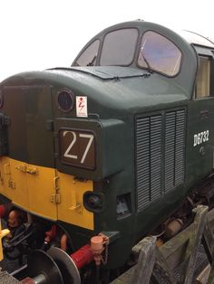 Class 37, D6732 at the North Norfolk Railway  08-07-15