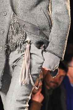 Great textures and garments  John Varvatos - Otoño 2013