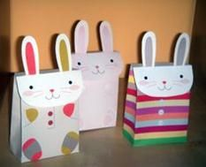 easter decorations with paper