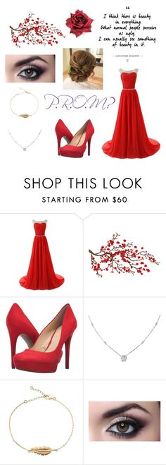 """""""#5 Prom"""" by fashionmadness13 ❤ liked on Polyvore featuring Brewster Home Fashions, Jessica Simpson and Ice"""
