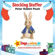 Hop To It with these adorable Peter Rabbit Plush toys.