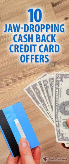 Could you use some extra cash in your pocket? Why not earn cash back on your everyday purchases with a cash back credit card? CreditCards.com has put together a list of the highest paying cash back credit cards on the market. Find your card at CreditCards.com and start earning today.