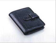 Salmon business card holder, Salmon skin business card holder-TX62001