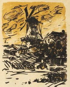 "Rückschau / Review Emil Nolde ""Mühle"" / ""Mill"" Hammer Price 7000  #emilnolde #hammerprice  #fineart #auktion #auktionshaus #art #auction #frenchsilver #empire #gemälde #hannover #weltkunst #homedecor #silver #gemälde #paintings  #jewellery #porcelain #contemporaryart #furniture#Paintings #Jewellery #Porcelain #Antiques #Design by auktionshauskastern"