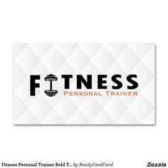 custom printable personal trainer business card template fitness