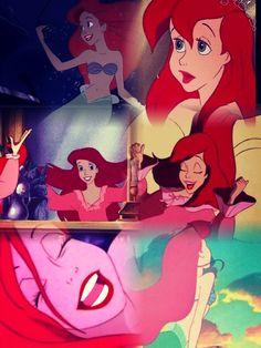 The little mermaid Ariel Walt Disney, Disney Nerd, Disney Magic, Disney Pixar, Disney Characters, Disney Princesses, Disney Little Mermaids, Ariel The Little Mermaid, Disney Dream