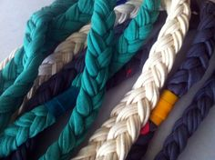So we might be stretching the definition of nautical, but we couldn't help but dream of summers spent on the water while making our sweet braided t-shir