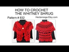 Tutorial Bolero Crochet o Ganchillo en Español - YouTube