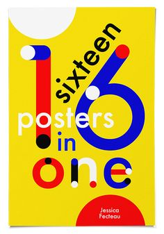 16 posters in one - Jessica Fecteau