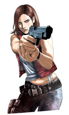 Claire Redfield.