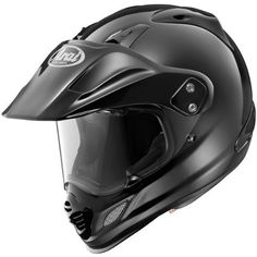 Arai Xd4 Black Md Motorcycle Full-face-helmets. New comfort headliner, with micro fitting 5mm peel away temple pads. New shell shape for better aerodynamic stability at higher street speeds. New exhaust ports added to the top diffuser vents. New chin vent with more intake ports. Larger sculpted side cowl vents improve ventilation.