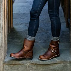 41 Trendy Ideas For Frye Boats Outfit Mens Frye Boots Outfit, Motorcycle Boots Outfit, Shoe Boots, Ankle Boots, Moto Boots, No Heel Boots, Mid Calf Boots, Cute Shoes, Me Too Shoes