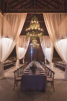 Rustic-Elegant Barn Reception | Photo: Matt Kennedy Photography. View More:  http://www.insideweddings.com/weddings/alfresco-ceremony-rustic-chic-barn-reception-in-san-luis-obispo/881/