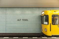 Riding Berlin's U6: A Visual Journey|Slow Travel Berlin
