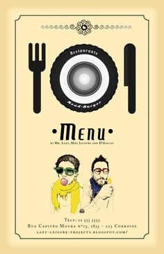 """Restaurante Road-Burger"" Mr. Lazy & Mme. Leisure Projects"