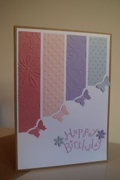 Handmadebysara - birthday card - handmade - craft by yolanda
