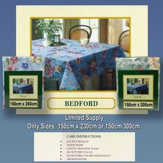 Shipment due today 8 to 10 seater Be... what about the quality and price. What a saving  http://www.curtainsrus.com.au/products/8-to-10-seater-bedford-table-cloth-runout-stock-limited-sizes-260cm-or-300cm-green-or-blue?utm_campaign=social_autopilot&utm_source=pin&utm_medium=pin
