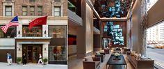 Lounge Turismo - Em ambiente requintado, hotel de Nova York hospeda exposições de arte em saguão e corredores