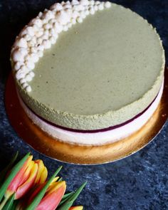 Mango Mousse Cake, Pavlova, Macarons, Panna Cotta, Food Porn, Food And Drink, Cooking Recipes, Sweets, Baking