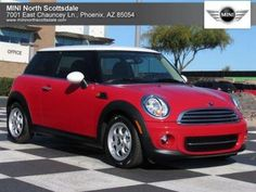 This Chili Red MINI Cooper Hardtop is ready for a loving home! Stop by MINI North Scottsdale today for a test drive!