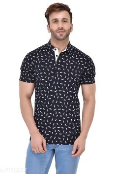 Tshirts GENT COLLAR SCISSORS PRINT BLUE T-SHIRT Fabric: Cotton Sleeve Length: Short Sleeves Pattern: Printed Multipack: 1 Sizes: S (Chest Size: 39 in Length Size: 27.5 in)  XL (Chest Size: 45 in Length Size: 29 in)  L (Chest Size: 43 in Length Size: 28.5 in)  M (Chest Size: 41 in Length Size: 28 in)  XXL (Chest Size: 47 in Length Size: 29.5 in) Country of Origin: India Sizes Available: S, M, L, XL, XXL   Catalog Rating: ★4.2 (472)  Catalog Name: Fancy Retro Men Tshirts CatalogID_1148441 C70-SC1205 Code: 853-7195057-999