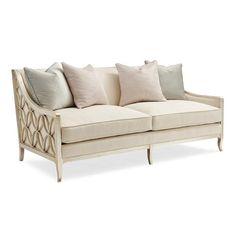 Max Sparrow-Silver Leaf sofa