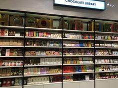 Selfridges, Chocolate Library,