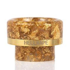 HELLVAPE AG+ DRIP TIP — VAPE SHOP Drip Tip, Resin Material, Vape Shop, Vaping, Dark Purple, Gold Rings, Wedding Rings, Tips, Electronic Cigarette