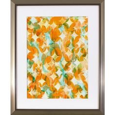 Overlapping Orange Framed Art Print ($70) ❤ liked on Polyvore featuring home, home decor, wall art, framed wall art, framed abstract wall art, abstract wall art, orange home decor and orange home accessories