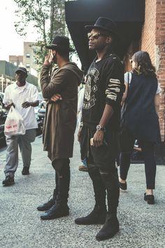 Street Style at Kanye West's Yeezy Season 2 NYFW Show | Complex UK