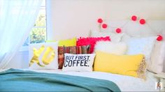 YouTuber Alisha Marie's Bed//so cute!!