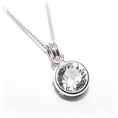 Fashion Bug Women Plus Size: Fashion Bug Jewelry: End of line clearance. 925 silver pendant and chain handmade with sparkling channel crystal from SWAROVSKI®. #British #UK #PlusSize #FashionBug #Jewelry