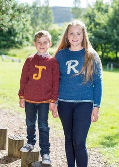 This Initial jumper pattern comes with 26 Alphabet letter charts so you can personalised the jumper for anyone!