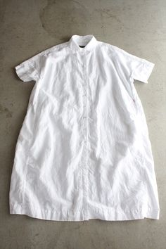CASEY CASEY <br>LINEN DRESS WHITE - Other Brand,ONE-PIECE - Veritecoeur(ヴェリテクール)