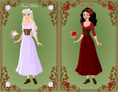 snow-white and rose-red | Snow White and Rose Red Story - [link]