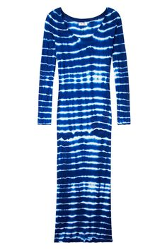 Tie-dye pieces in cobalt and white are right on trend for this summer season. Click here to shop the look.