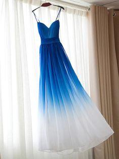 A-line Bridesmaid Dresses Sweetheart Chiffon Long Bridesmaid Dresses SKY028
