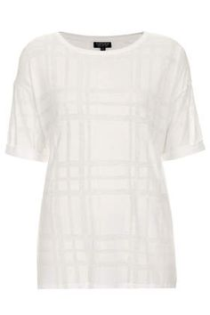 Burnout Check Tee - White Out - Clothing