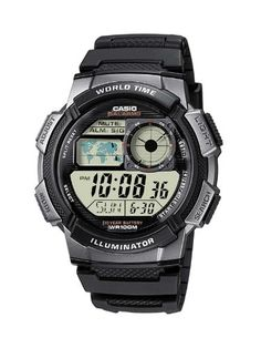 Casio Collection Herren-Armbanduhr Digital Quarz AE-1000W-1BVEF - http://uhr.haus/casio/casio-collection-herren-armbanduhr-digital-ae