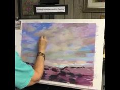 Sunday Studio Pastel Painting Demo: Clouds and Skies - YouTube