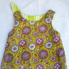 Reversible Zen Dress By Blooms And Bugs: Sewing tutorials, DIY instructions, Free patterns and More