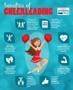 The Benefits of Cheerleading