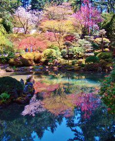 Portland Japanese Garden via: Tempo da Delicadeza